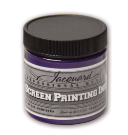 Jacquard Pro Screen Print Ink 4Oz Op Violet