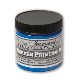 Jacquard Pro Screen Print Ink 4Oz Op Blue