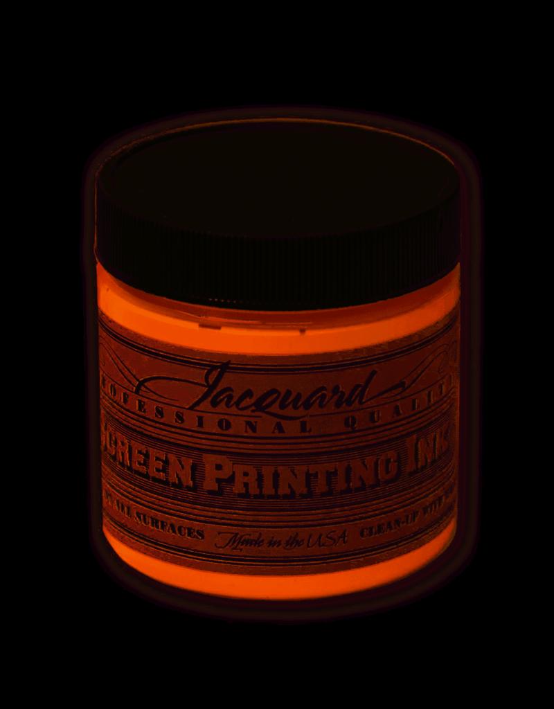 Jacquard Pro Screen Print Ink 4Oz  Orange