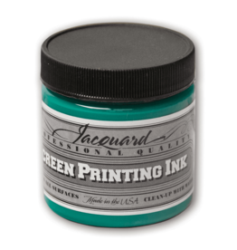 Jacquard Pro Screen Print Ink 4Oz Op Green