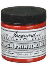 Jacquard Pro Screen Print Ink 4Oz  Bright Red