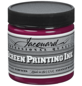 Jacquard Pro Screen Print Ink 4Oz Process Magenta