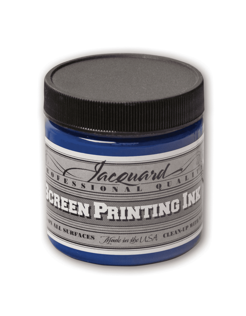 Jacquard Pro Screen Print Ink 4Oz Process Cyan