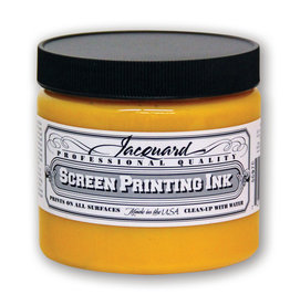 Jacquard Pro Screen Print Ink 16Oz Yellow