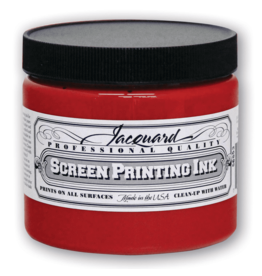 Jacquard Pro Screen Print Ink 16Oz Red