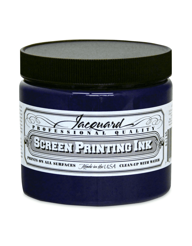 Jacquard Pro Screen Print Ink 16Oz Royal Blue