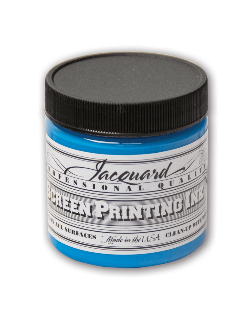 Jacquard Pro Screen Print Ink 4Oz Sky Blue