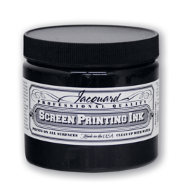 Jacquard Pro Screen Print Ink 16Oz Black
