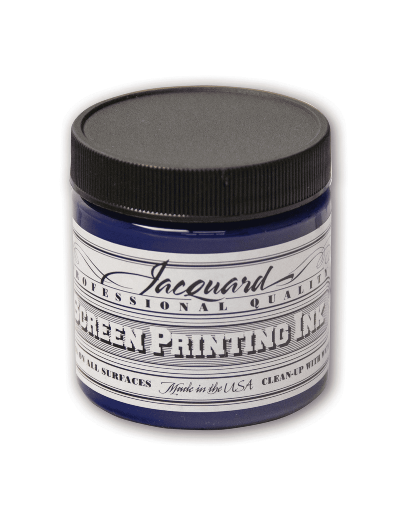 Jacquard Pro Screen Print Ink 4Oz Royal Blue