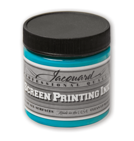 Jacquard Pro Screen Print Ink 4Oz Turquoise