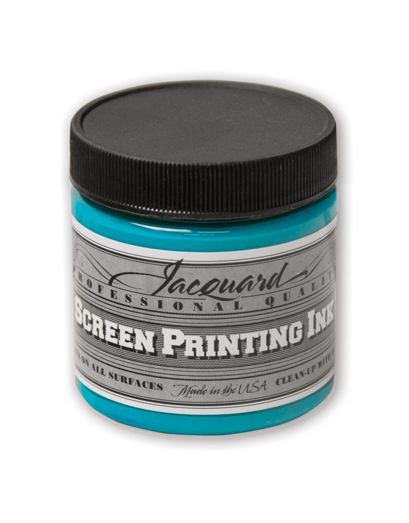 Jacquard Pro Screen Print Ink 4Oz Turquoise