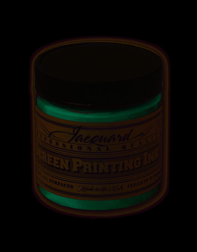 Jacquard Pro Screen Print Ink 4Oz Yellow Green