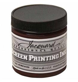 Jacquard Pro Screen Print Ink 4Oz  Brown