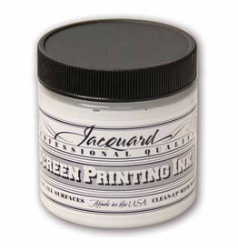 Jacquard Pro Screen Print Ink 4Oz Opq White