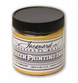 Jacquard Pro Screen Print Ink 4Oz Solar Gold