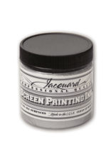 Jacquard Pro Screen Print Ink 4Oz Silver
