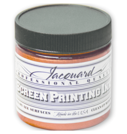 Jacquard Pro Screen Print Ink 4Oz Copper