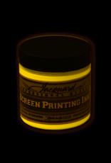 Jacquard Pro Screen Print Ink 4Oz Op Yellow