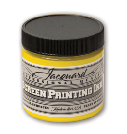 Jacquard Pro Screen Print Ink 4Oz Op Yellow