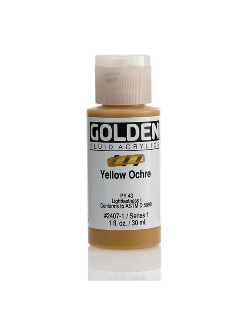 Golden Fluid Yellow Ochre  1oz