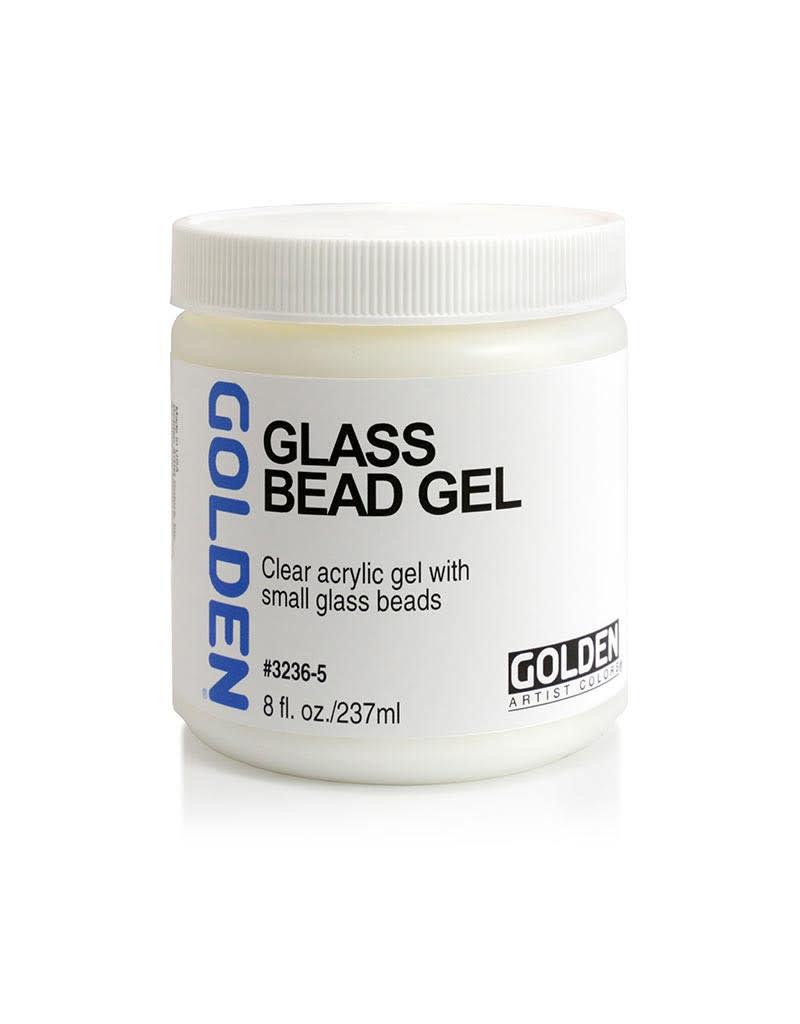 Golden Glass Bead Gel- 8 oz