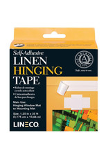 Lineco Self Adh Linen Tape 1 1/4X35Ft