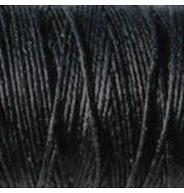 Crawford Waxed Linen Thread Black 2Ply/50 Gram X 190Yard