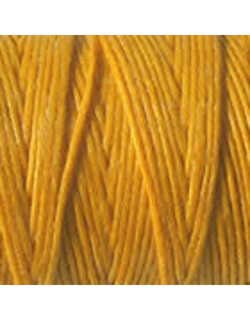 Crawford Waxed Linen Thread Bright Autumn Yellow 4Ply/50 Gram X 190Yard