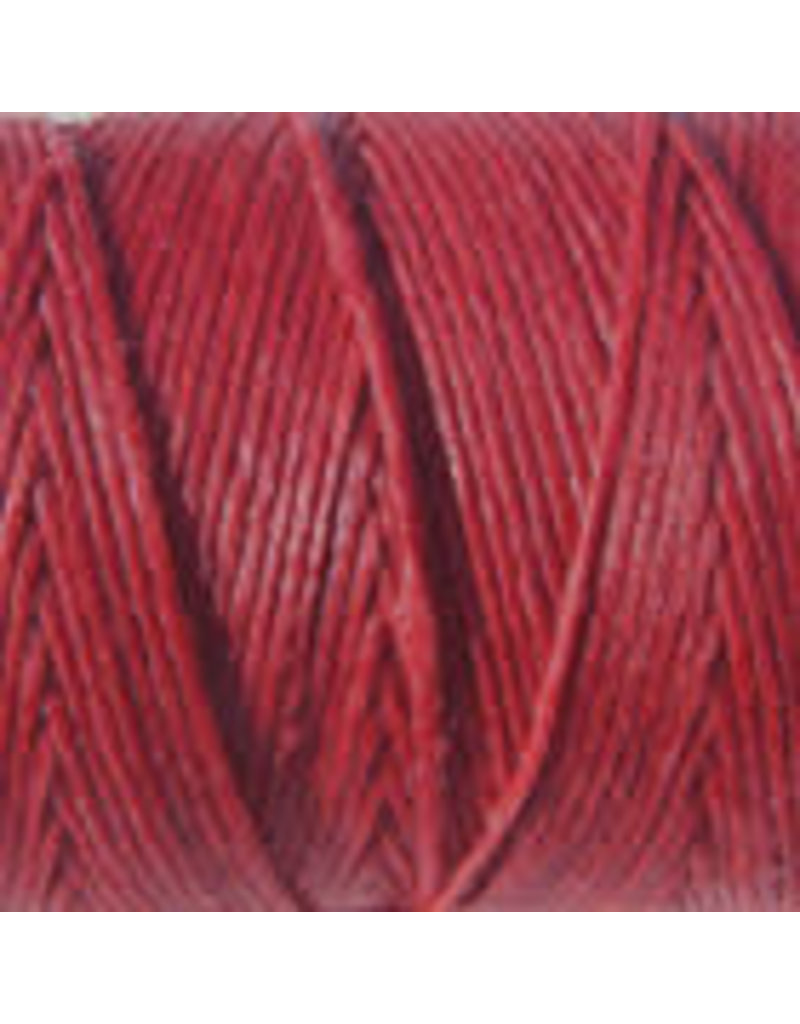 Crawford Waxed Linen Thread Country Red 2Ply/50 Gram X 190Yard