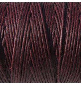 Crawford Waxed Linen Thread Maroon 2Ply/50 Gram X 190Yard