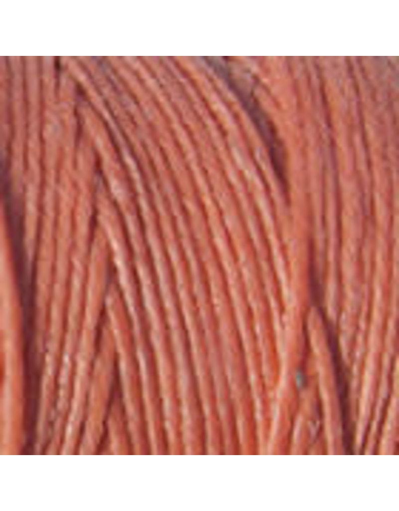 Crawford Waxed Linen Thread Salmon 2Ply/50 Gram X 190Yard