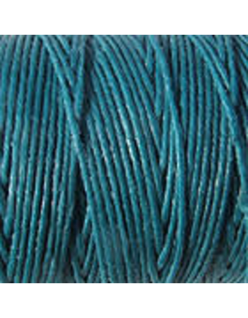 Crawford Waxed Linen Thread Teal 2Ply/50 Gram X 190Yard