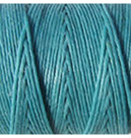 Crawford Waxed Linen Thread Turquoise 2Ply/50 Gram X 190Yard