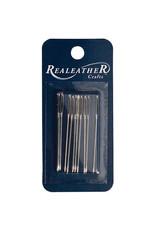 Real Leather Stitching Needles 10Pk