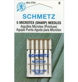 Schmetz Microtex Sharp Machine Needle 130/705 H-M | 90/14 | S-1731