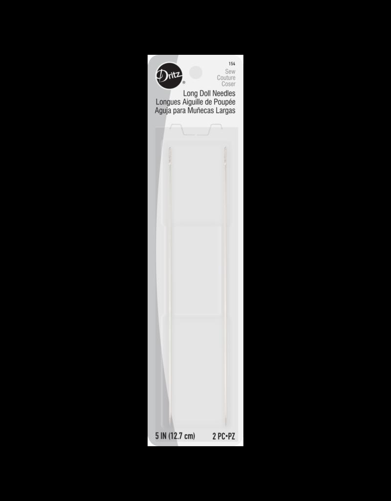 Dritz 5'' Long Doll Needles 2Ct | S-154