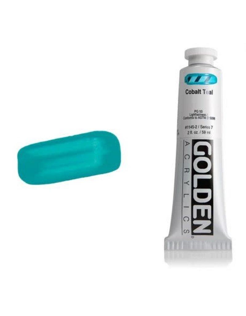 Golden Hb Cobalt Teal 2oz Tube-2
