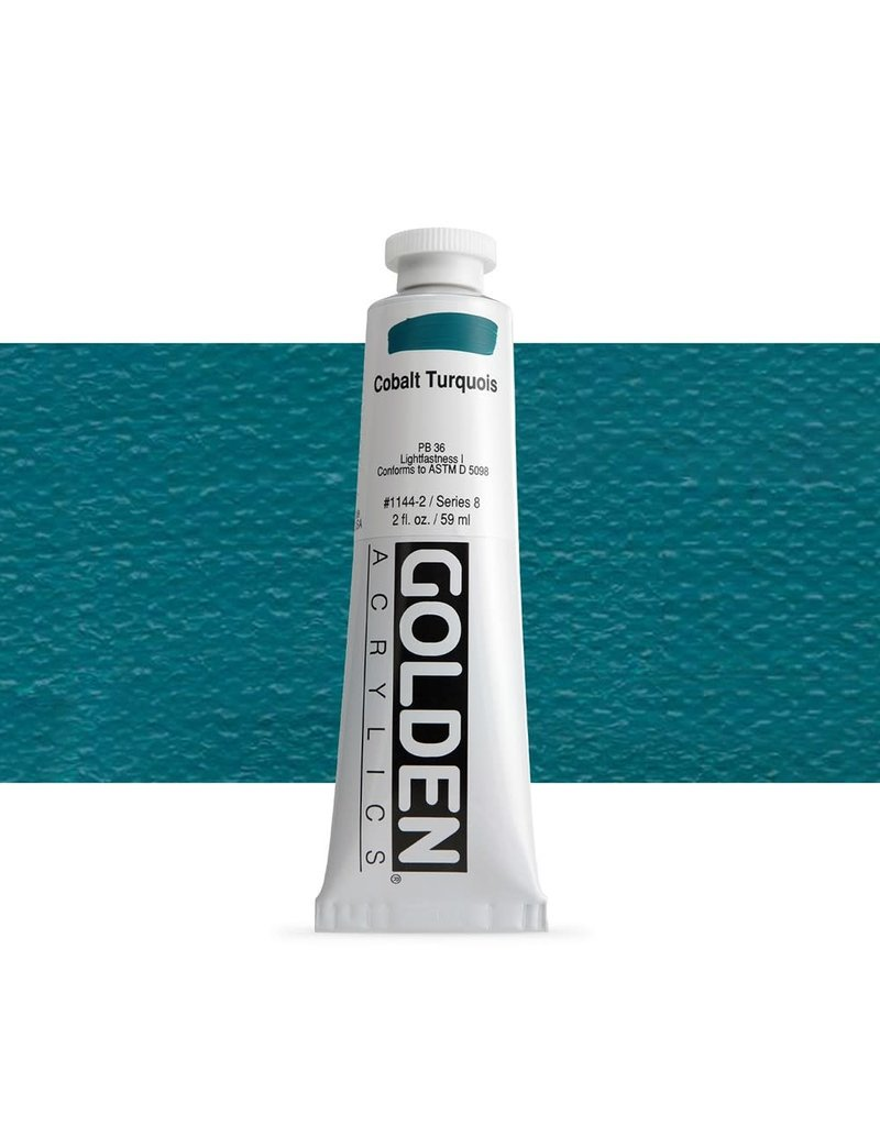 Golden Hb Cobalt Turquois 2oz Tube-2