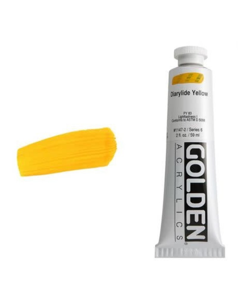 Golden Hb Diarylide Yellow 2oz Tube-2