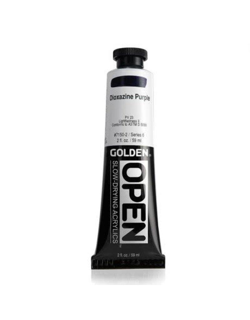 Golden Hb Dioxazine Purple 2oz Tube-2