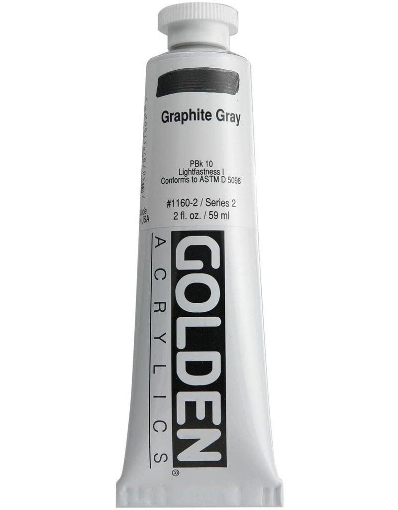 Golden Hb Graphite Gray 2oz Tube-2