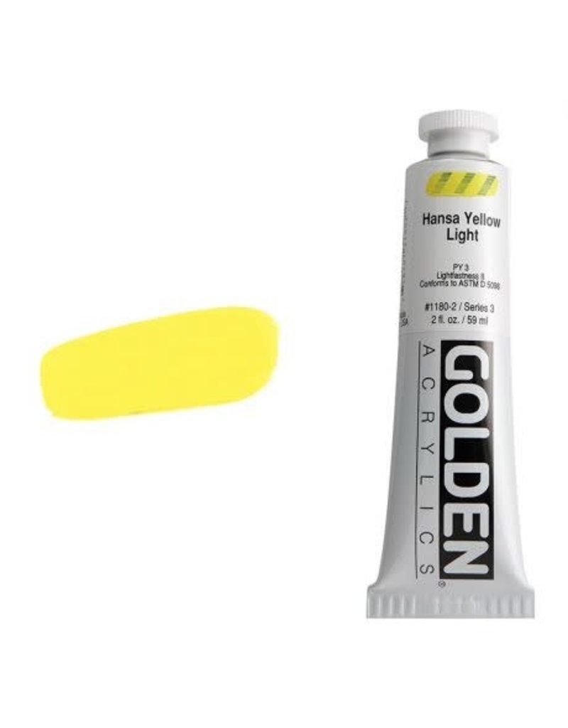 Golden Hb Hansa Yellow Light 2oz Tube-2