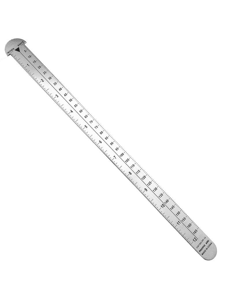 Pacific Arc PICA Pole Ruler 12''