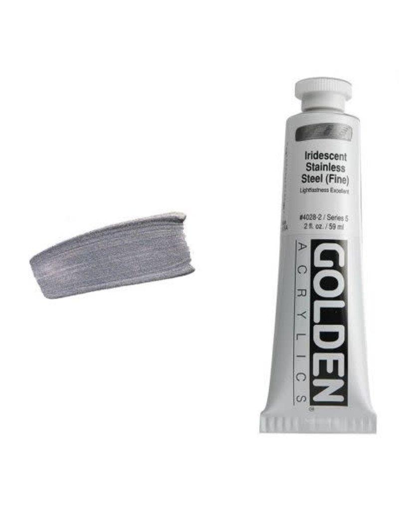 Golden Hb Irid. Stainless Steel (Fine)-2