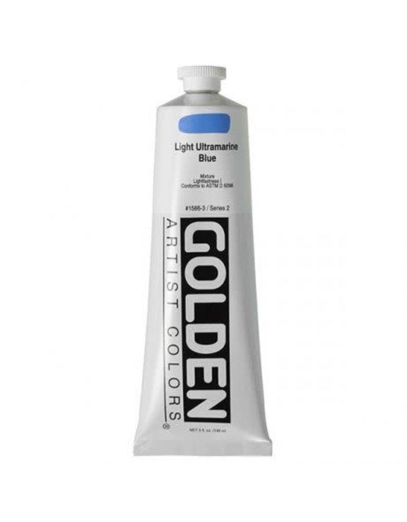 Golden Hb Light Ultramarine Blue 2oz Tube-2