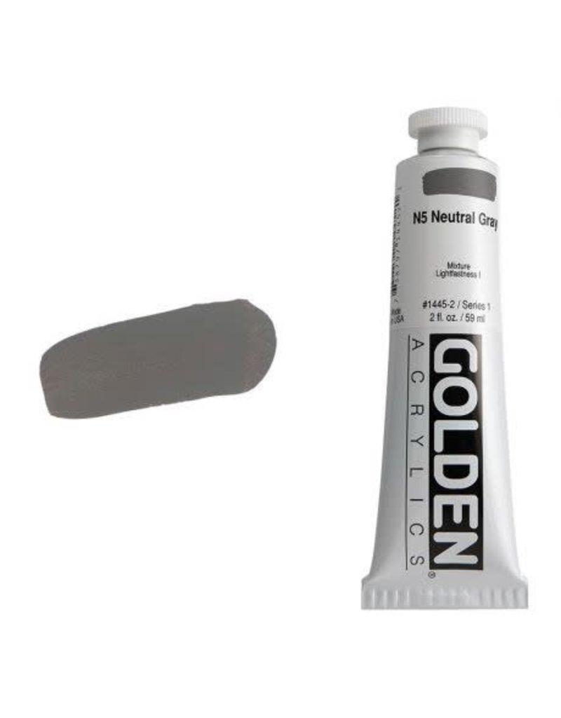 Golden Hb N5 Gray 2oz Tube-2