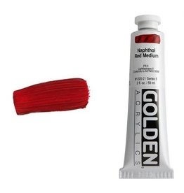 Golden Hb Naphthol Red Medium 2oz Tube-2