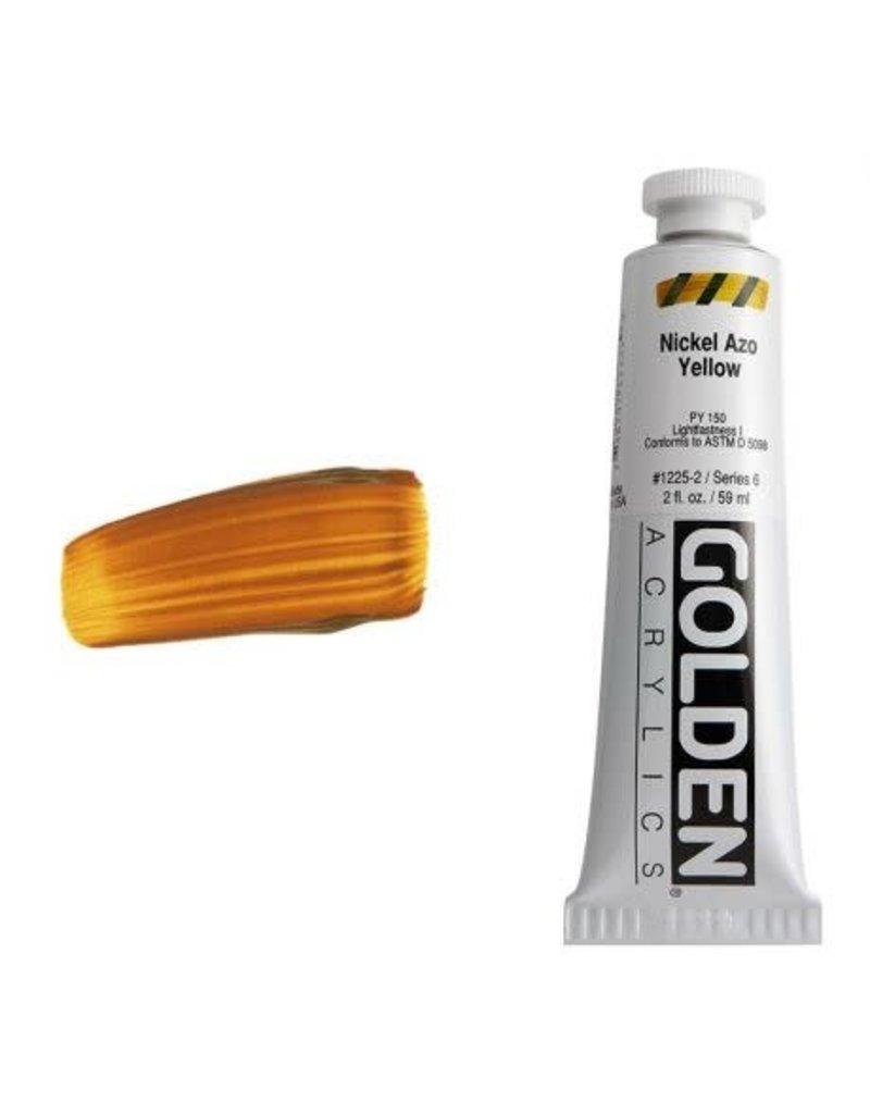 Golden Hb Nickel Azo Yellow 2oz Tube-2