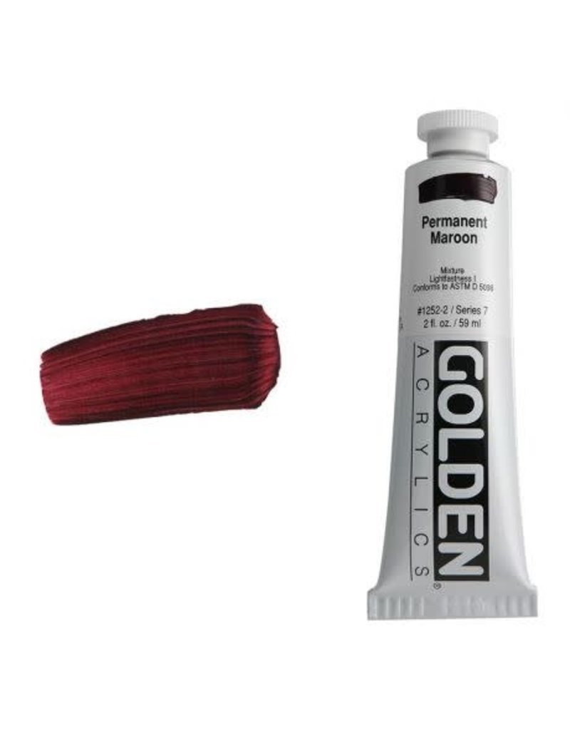 Golden Hb Permanent Maroon 2oz Tube-2