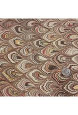 Talas Italian Marbled Paper FF Brown #825